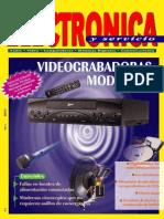 Electronica y Servicio N°4-Videograbadoras modernas