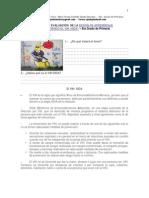 """Ficha de Evaluación de Sesión de Aprendizaje """"Conociendo el VIH-SIDA"""" 6to.grado de Primaria"""