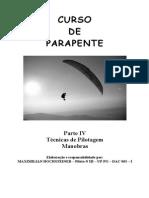 Parapente - Paragliding - Apostila - Tecnicas Pilotagem Manobras