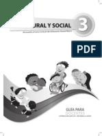 Entorno Natural y Social Docente 3ro Egb