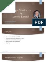 Terapia Multimodal by Arnold Lazarus