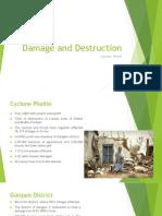 Damage and Destruction