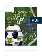 Weekend Football Festival New Jan 25,2015