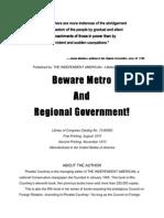 Beware Metro And Regional Government-PhoebeCourtney