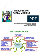 Session 1.3. Principles of Family Medicine
