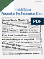 20100107 Buku Putih Depkeu - Upaya Pemerintah Dalam Pencegahan Dan Penanganan Krisis