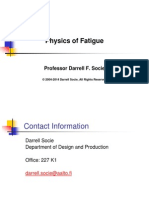 Physics of Fatigue