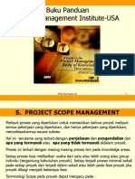 1.5. Project Scope Management