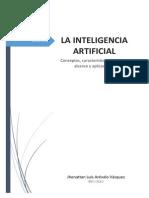 trabajo de investigacion sobre la inteligencia artificial