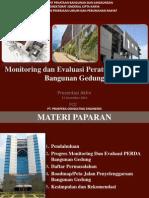 Presentasi Akhir Monitoring dan Evaluasi Penyelenggaraan Bangunan Gedung di Indonesia