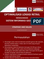 Optimalisasi Lokasi Retail Menggunakan Gis