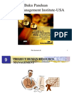 1.9. Project Human Resource Management