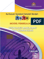 Modul Pembelajaran TMK Tahun 3 SK