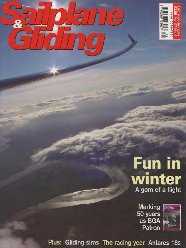 Sailplane and Gliding - Dec 2006 Jan 2007 68 Pg | Gliding | Personal  Digital Assistant
