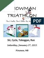 Snowman Triathlon 2015