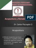 Acupuntura y Rehabilitacion