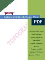 modelo de informe topo II