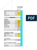 Formulario - Precios Unitarios - CajamarcaIIE