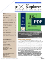 The Explorer - District 10 Newsletter Volume 4 | Issue 1