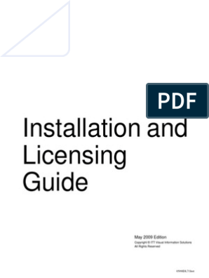 Installation and Licensing Guide | Command Line Interface