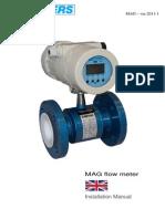 154 Manual MAG Flow Rate ENG