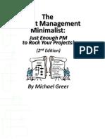 PM Minimalist 2nd Edition 5-30-2011 Download