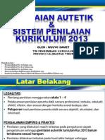 Sistem Penilaian Kurikulum 2013_sma Tapel 2014-2015
