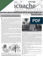 Breve Semblanza de La Arqueologia en Xochicalco