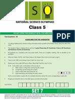Nso Level1 Class 5 Set 7
