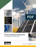 2012 Transair Alternative Energy Brochure