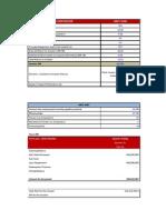 Funding Options Analysis Sheet