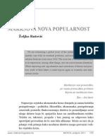 Željko Rutović - Marksova Nova Popularnost