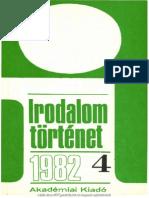 Irodalomtörténet 1982/4
