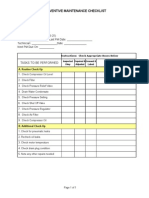 Pm Checklist Junair 6 25