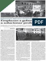 02-12-2014 Emplazan a gobernador a solucionar problemas