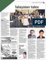 Telling Malaysian tales