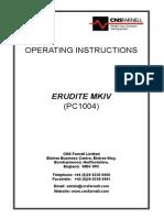 Erudite Mkiv Manual