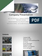 Uji Nescaya Company Power Point Presentation