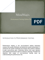 Performance Testing Online Training