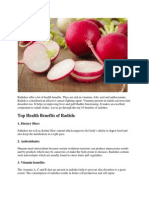 Radishes Offer a Lot of Health Benefits