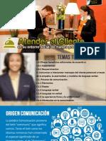 Clases Atender Al Cliente Tema 3er Parcial Comunicacion
