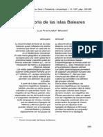 Prehistoria de Las Islas Baleares