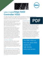 Dell Perc h310 Spec Sheet
