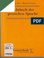 Alavi Lehrbuch Der Persischen Sprache