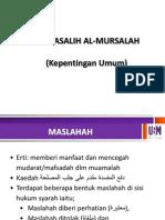 MASALIH MURSALAH