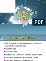 Ch1 - Steam Power Plants