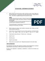 PHE Method Statement