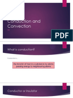 Conduction and Convection