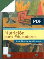 Nutrición Para Educadores - Mataix