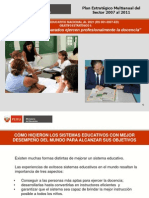 plan estrategico multianual 2008- 2011